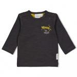 T-Shirt Go Wild Antraciet