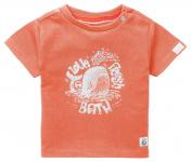 T-Shirt Korte Mouw Twisk Vermillion Orange