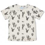 T-Shirt Korte Mouw Cactus Offwhite