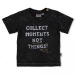 T-Shirt Korte Mouw Moments Antraciet