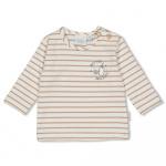 T-Shirt Streep Offwhite