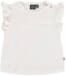 T-Shirt Korte Mouw Creme