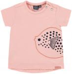 T-Shirt Korte Mouw Fish Blush Pink