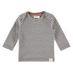 T-Shirt Stripe Ebony