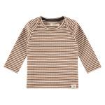 T-Shirt Stripe Chocolate