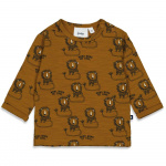T-Shirt Leeuw King Of Cool Camel