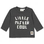 T-Shirt Little Mister Cool Antraciet