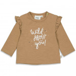 T-Shirt Wild About You Camel