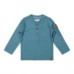 T-Shirt Henley Dusty Blue