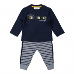 2-Delige Set Mountain Stripe Navy Jeans