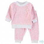 Feetje Pyjama Roze Wafel