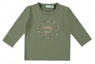 T-Shirt Little Girl Deep Lichen Green