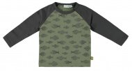 T-Shirt Fishes Deep Lichen Green