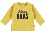T-Shirt Kleine Baas Misted Yellow
