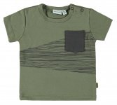 T-Shirt Korte Mouw Pocked Deep Lichen Green