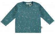 T-Shirt Speckle Mallard Blue