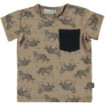 T-Shirt Korte Mouw Tiger Silver Mink