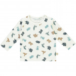 Babylook T-Shirt Origami Blue