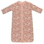 Babylook Winter Afritsbare Mouw Tiny Flower Coral Cloud