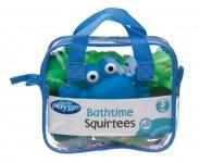 Playgro Bathtime Squirtees Blue