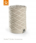 Stokke® Stroller Knitted Blanket Cable Cream
