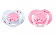 Philips Avent Fopspeen Night Time Pink 0-6 mnd  (2 stuks) - SCF176/28