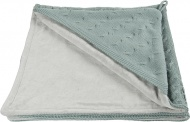 Baby's Only Omslagdoek Kabel Chenille Stonegreen