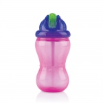 Nûby Flip-It Rietjesbeker Roze 12mnd+ 355ml