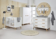 Ledikant 70 x 140 Incl. Juniorzijden - Commode Mika