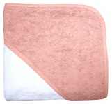 Babydump Collectie Babycape Wit / Blush