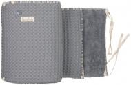 Koeka Box/Bedbumper Amsterdam Steel Grey