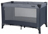 Qute Campingbed Q-sleep Grey / Antra