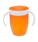 Munchkin Miracle 360º Trainer Cup Oranje 6mnd+ 207ml