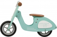 Little Dutch Houten Loopscooter Mint