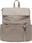 Little Company Diaperbackpack Lisbon Braided Taupe