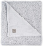 Jollein Wiegdeken Winter Confetti  Knit Grey 75 x 100 cm