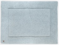 Jollein Boxkleed Confetti Knit Stone Green 80 x 100 cm