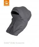 Stokke® Stroller Storm Cover Black Melange