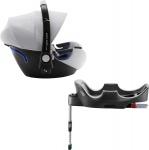 Römer Baby-Safe2 i-Size Nordic Grey inclusief Flex Base