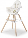 Childhome Evolu ONE.80° Chair Naturel/Wit