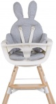 Childhome Stoelverkleiner Evolu / Ironwood Jersey Rabbit Grey