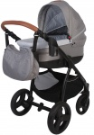Bo Jungle B-Zen 4 In 1 Stroller Light Grey Inclusief Bijpassende Reistas (uitlopend)