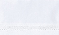 Cottonbaby Ledikantlaken Broderie Klein Wit 120 x 150 cm