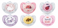 NUK Freestyle Fopspeen Girl 0-6mnd 2Pack