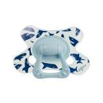 Difrax Fopspeen Tail Blue Natural 18mnd+
