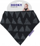 Dooky Dribble Bib Black Tribal