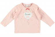 Babylook T-Shirt Girl Old Pink