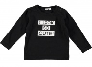 Babylook T-Shirt Cute Black