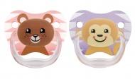Dr. Brown's Fopspeen Bear Pink Fase 2 2-Pack
