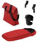Thule Sleek Launch Pack Energy Red